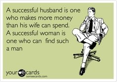 So perfect for my dear budgeting husband... :)