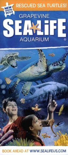 SEALIFE Aquarium Grapevine, Texas Brochure