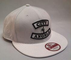 "WHITE City of Angels "" Rocker "" New Era 9FIFTY"