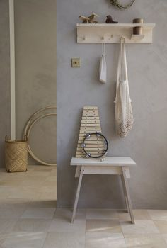Utility Cupboard, Birch Ply, Wishbone Chair, Ladder Decor, Shelves, Vase, Alice, Furniture, Montessori