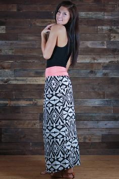Indian Summer Maxi Skirt