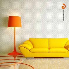 O adesivo de parede Simple Geometric está entre os mais indicados para ambientes modernos e descolados!   #home #decoracaodeinteriores #casa #decor #instahome #homedecor #parede #detalhes