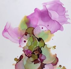 """Flutter"" Alcohol ink on yupo by Gloria Gelo Alcohol Ink Crafts, Alcohol Ink Painting, Alcohol Ink Art, Paper Art, Paper Crafts, Kid Crafts, Soul Collage, Art For Art Sake, Silk Painting"