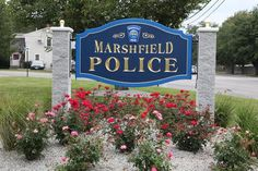 During the latter weeks of summer, as work trucks were seen in the parking area of the Marshfield Police Station, curious members of the public stopped in