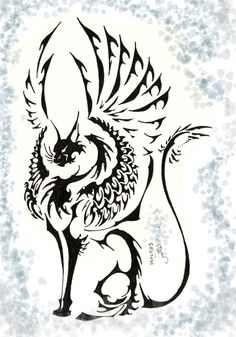 Tribal Len by *lenalis Doodles Zentangles, Elefante Tribal, Panther Images, Kitten Tattoo, Rune Tattoo, Cross Pictures, Wing Tattoo Designs, Black And White Sketches, Witch Art