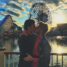 Joey Graceffa: Disney Kisses with my Prince Charming! ❤️