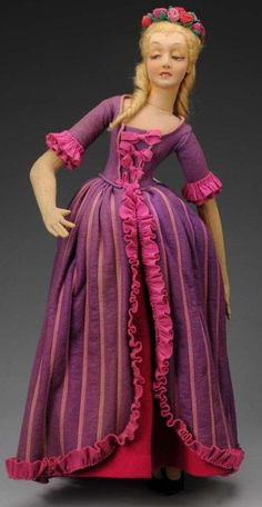 "Lovely Lenci Lady Doll #250 ""Mimi"". : Lot 1012"