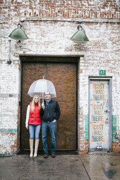 New York City rainy engagement inspiration // Braedon Photography