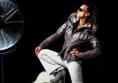 New ski collection Emmegi Nová lyžařská kolekce Emmegi Skiing, Nova, Leather Jacket, Jackets, Collection, Fashion, Ski, Studded Leather Jacket, Down Jackets