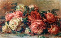 Afbeelding Pierre-Auguste Renoir - Discarded Roses