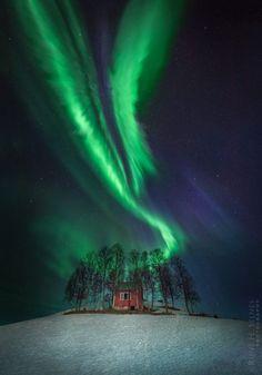 Auroras boreales desde Harstad, Noruega – El Universo Hoy ♥ Seguici su www.reflex-mania.com/blog