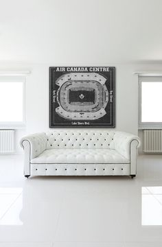 d1c1218fc6b Print of Maple Leafs at Air Canada Centre Vintage by ClavinInc