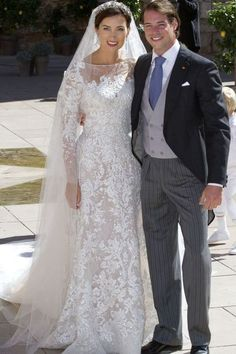 Claire Lademacher's wedding dress