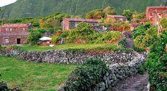 Aldeia da Cuada Flores, Açores  Azores, Portugal  Print - Sábado