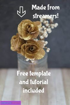 how to make decorations out of streamers, free crepe paper flower templates, crepe paper flowers step by step Crepe Paper Flowers Tutorial, How To Make Paper Flowers, Giant Paper Flowers, Tissue Flowers, Paper Roses, Fabric Flowers, Crepe Paper Decorations, Crepe Paper Streamers, Homemade House Decorations