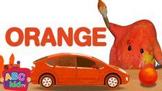 Color Song - Orange  | Nursery Rhymes & Kids Songs - ABCkidTV Abc Songs, Alphabet Songs, Kids Songs, Color Song For Kids, Color Songs, Abc Kids Tv, Rhymes For Toddlers, Best Nursery Rhymes, Orange Nursery