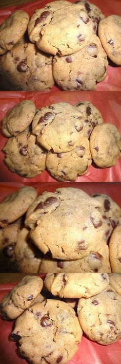 Cookies and Biscotti 20473: Homemade Super Soft Peanut Butter Chocolate Chip Cookies (Choice Of Quantity) -> BUY IT NOW ONLY: $33 on eBay!
