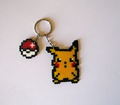 Pikachu & Pokeball on Ring