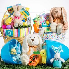 Get ready for Easter morning with adorable baskets, filler and more! Psst—these liners are perfect for personalizing!