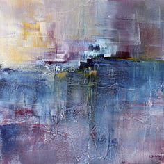umj.art - Ulla Maria Johanson: 2017-10-14 #1069FinallyAcrylic on board, 15x15 c...