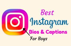 Fresh Collection Of Best Instagram Bio For Boys. Make Your Insta Bio Awesom With Cool Insta Bio Specifically For Boys Instagram Status Bio, Attitude Bio For Instagram, Good Instagram Bios, Name For Instagram, Instagram Bio Quotes, Instagram Tips, Caption For Boys, I Love You Images, Insta Bio