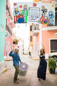 This gorgeous couple is tying the knot today! See their Old San Juan engagement session here: http://www.camillefontz.com/?p=8377