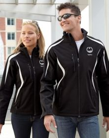 Promotional Products Ideas That Work: ENZO MEN'S COLOR-BLOCK SOFT SHELL JACKET. Get yours at www.luscangroup.com