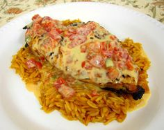 Plain Chicken: Queso Smothered Chicken