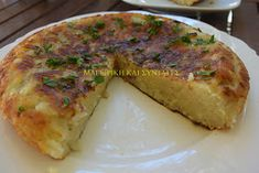 αρπάξει Greek Cooking, Greek Recipes, Easy Desserts, Quiche, Recipies, Cooking Recipes, Meat, Chicken, Breakfast