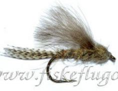 CDC Floating Emerger Nymph  Torrfluga: Regnbåge  Storlek - 12