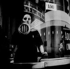Vivian Maier, Ticket Booth, 1968