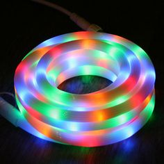 Cordon LED lumineux 5M 100 LED - MULTICOLORE ANIMABLE