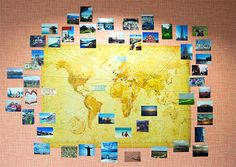 DIY Photo World Map...
