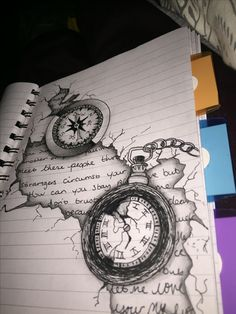 Time is everything 💪 tattoo art drawings, body art tattoos и art sketches. Pencil Art Drawings, Art Drawings Sketches, Tattoo Sketches, Tattoo Drawings, Cool Drawings, 3d Tattoos, Tattoo Ink, Arm Tattoo, Creative Pencil Drawings