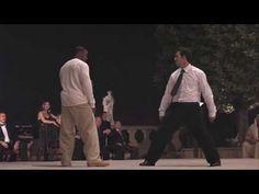 Michael Jai White vs Matt Mullins in Blood and Bone - YouTube