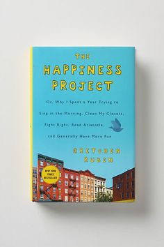 The Happiness Project by Gretchen Rubin. One of the first books I have ever taken notes on because I think what it has to say is so beneficial and worth applying.