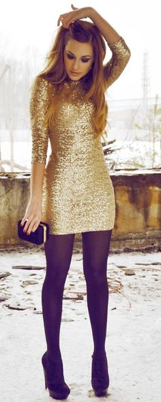 new years dress- any chance there would be a place to wear this in North Dakota??