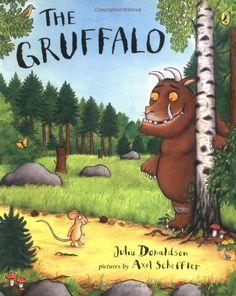 The Gruffalo by Julia Donaldson #Books #Kids #Gruffalo #Julia_Donaldson