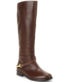 Lauren Ralph Lauren Jenny Tall Shaft Pull-On Riding Boots - Boots - Shoes - Macy's