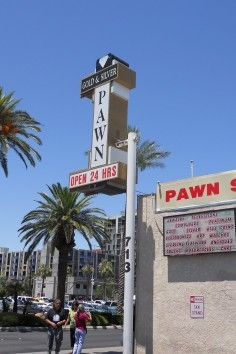 Famous from the TV show Pawn Stars, this Pawn Shop has merchandise full of character.