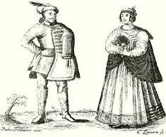 Nobles' outfit from Transylvania 1667. Origines et occasus transylvanorum