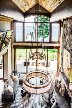 Gorgeous, custom light fixture