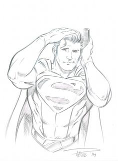 Dean Cain's Superman by Anthony Geoffroy (France
