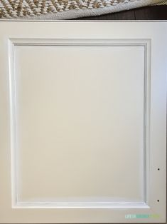 How To Paint Thermofoil Cabinets - Life On Virginia Street Painting Laminate Kitchen Cabinets, Melamine Cabinets, Cream Kitchen Cabinets, Mdf Cabinets, Wood Laminate, Kitchen Cabinet Design, Painting Cabinets, Painting Melamine, Kitchen Utensils Store