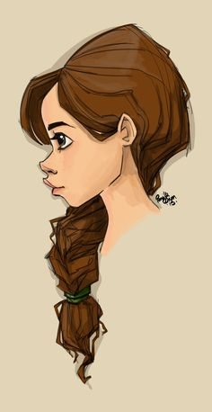Ohh yes, had this one too… A profile doodle…
