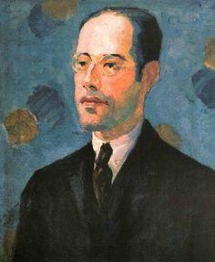 RETRATO DE MARIO DE ANDRADE (1922), Tarsila do Amaral