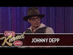 Johnny Depp on Jimmy Kimmel Live PART 2