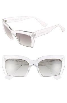 Steve Madden 55mm Semi Rimless Sunglasses available at #Nordstrom