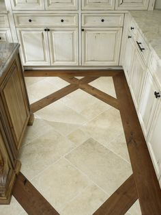 15 Ceramic Kitchen Floor Design Ideas Ceramic Kitchen Floor Design Ideas - Architectures Kitchen Adorable White Ceramic Tile Floor living room floor tile design ideas Ceramic Floor Wood In. Wood Tile Floors, Kitchen Flooring, Kitchen Tiles, Kitchen Design, Ceramic Floor Tiles, Porcelain Floor, Floor Design, Tile Design, Home Remodeling