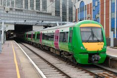 TheRailwayCentre green train